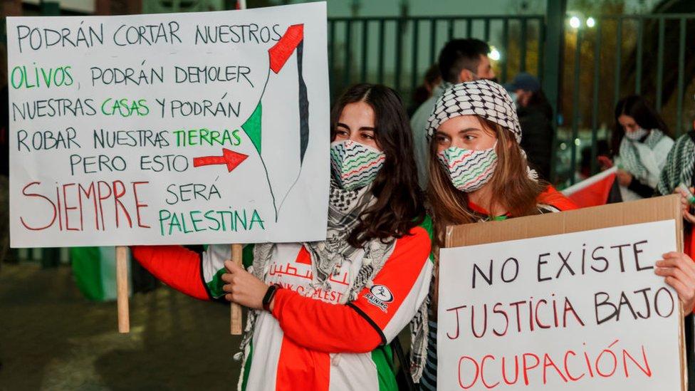 Palestinos en chile