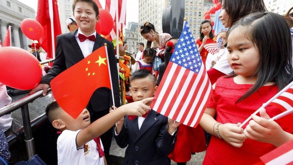 美國華人社區慶祝中國國慶