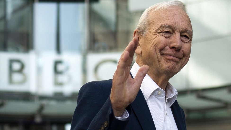 John Humphrys waved goodbye to the BBC on Friday after 32 years