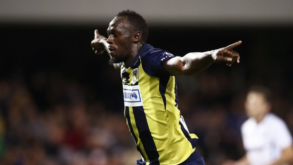 Will Usain Bolt sign for Central Coast Mariners?