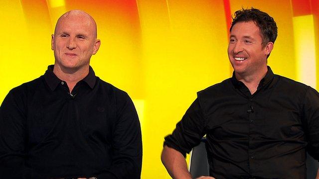 John Hartson and Robbie Fowler