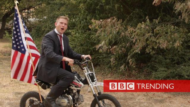 Bryan Wilson on a motorbike
