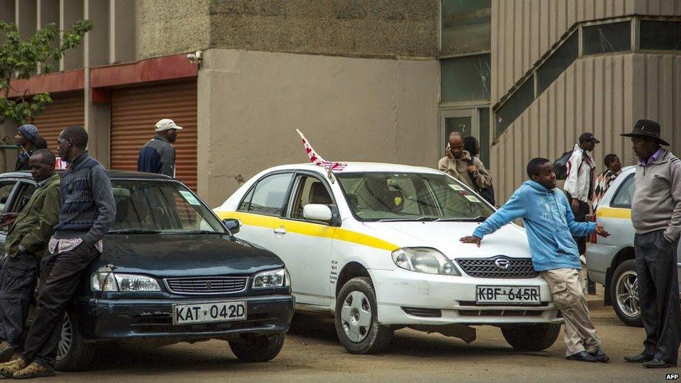 kenyan taxi drivers