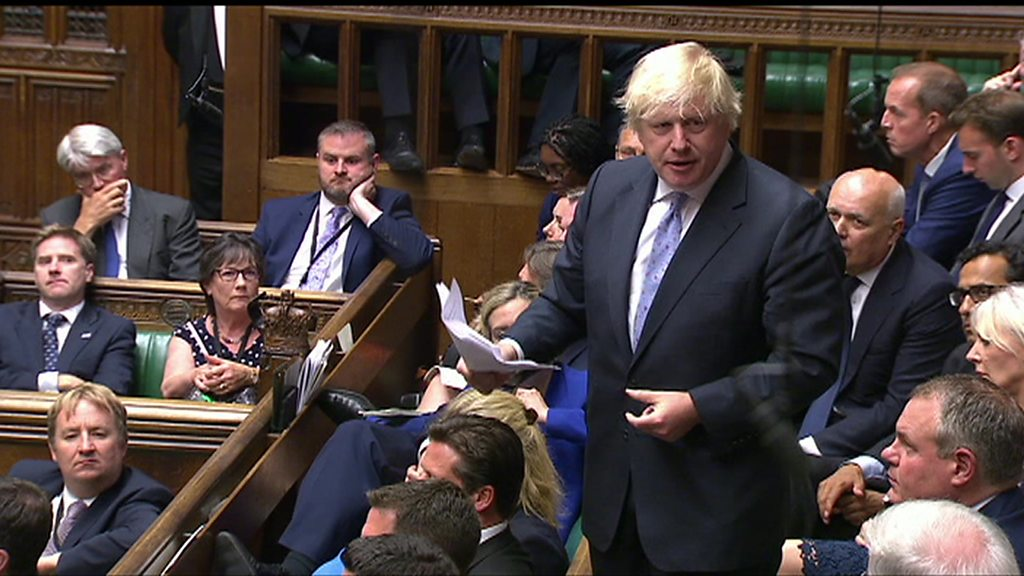 In full: Boris Johnson's resignation speech