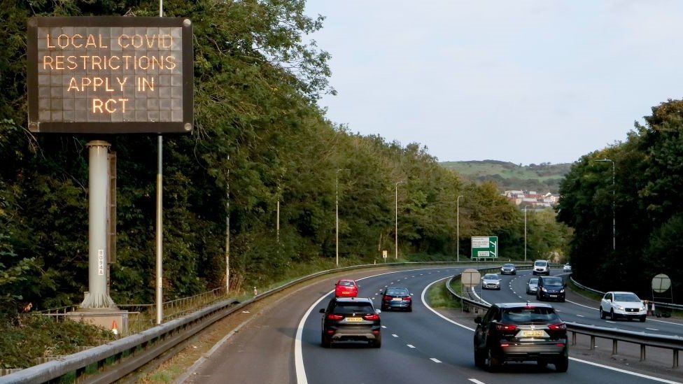 Rhondda Cynon Taf is one of the areas in Wales facing local restrictions