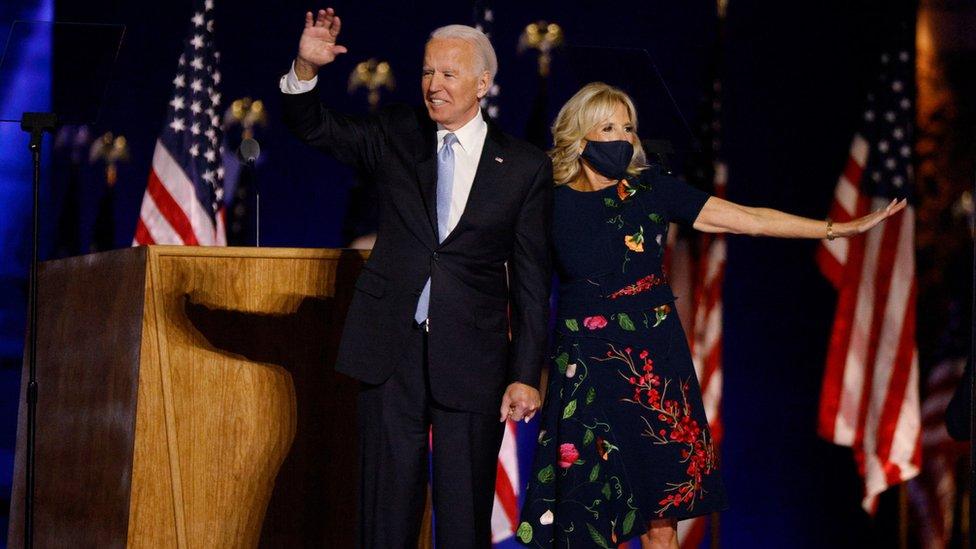 拜登將於明年1月20日宣誓就任總統。