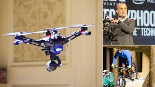 Intel drone demo