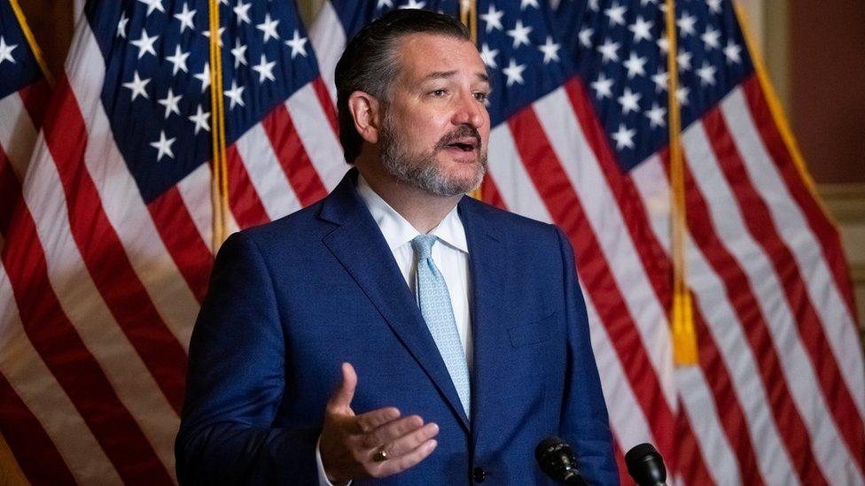 Senador estadounidense por Texas Ted Cruz