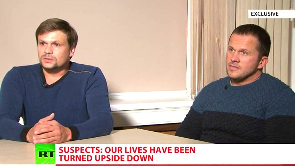 Skripal suspects deny involvement in Salisbury Novichok poisoning