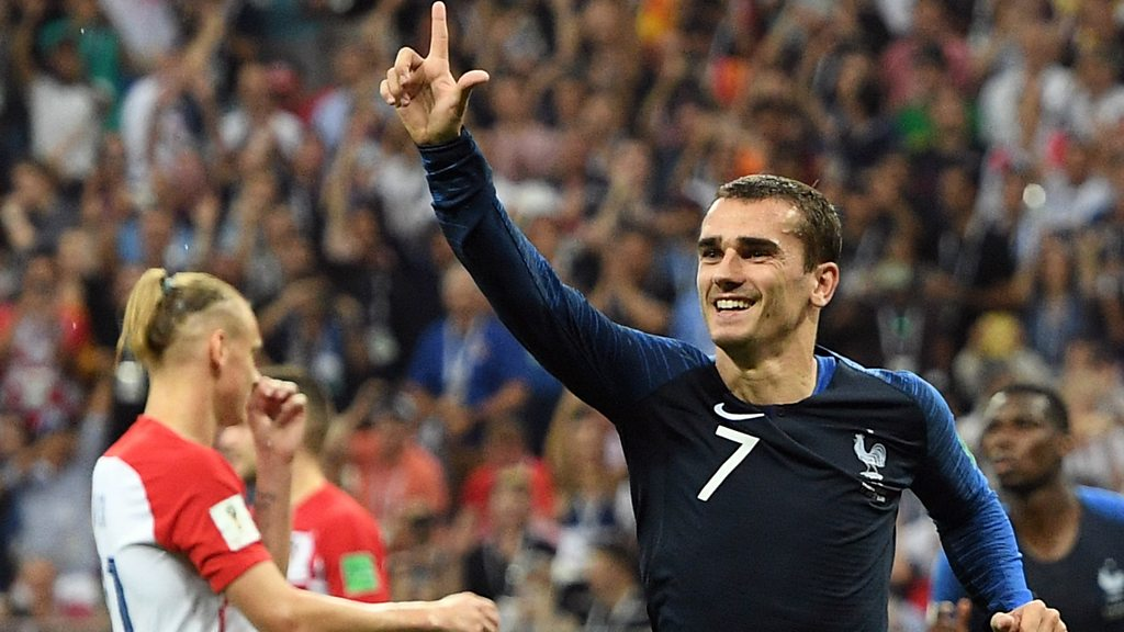 Watch: Griezmann tucks away controversial VAR penalty
