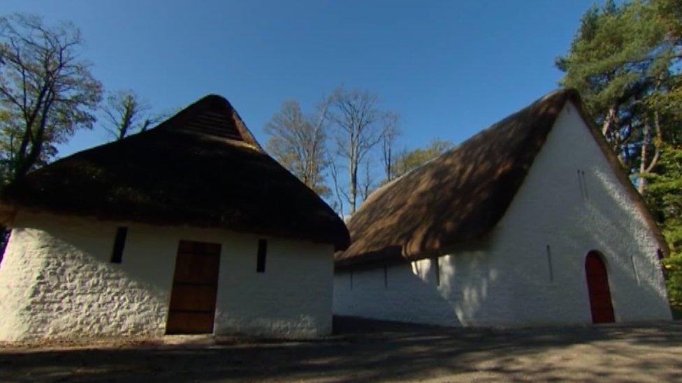Ancient buildings at St Fagans