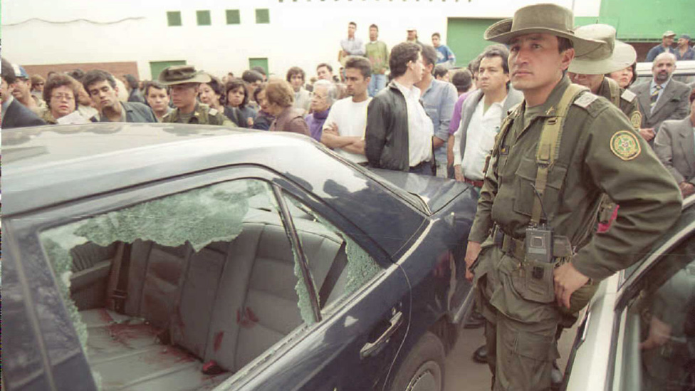 Escena del crimen de Gómez Hurtado