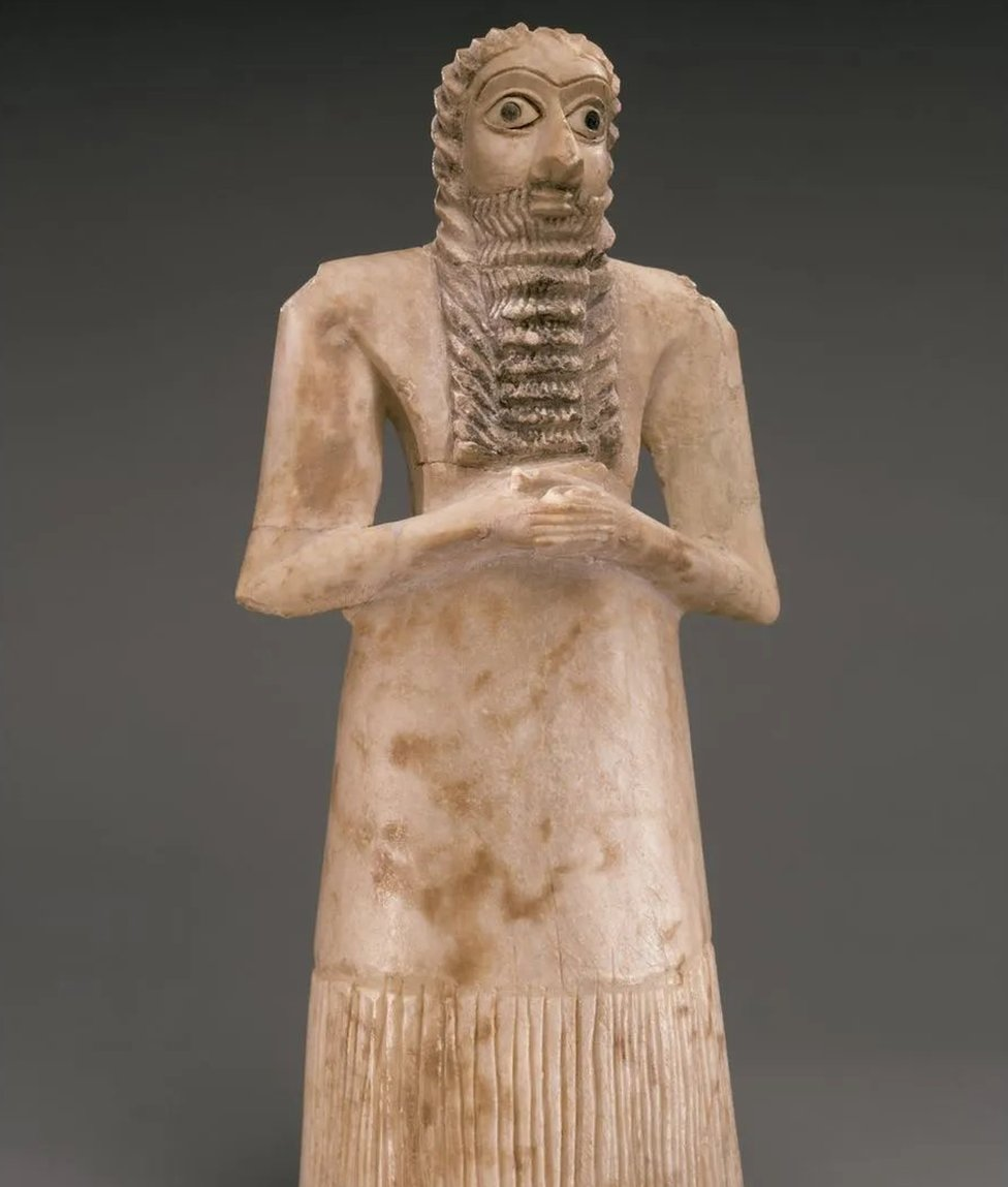 Escultura de sumerios