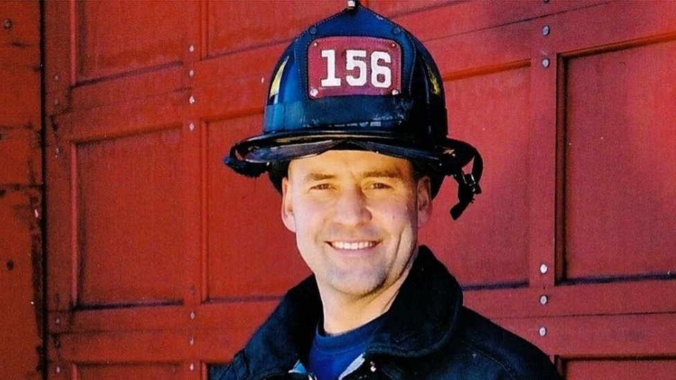 Former NYC firefighter Keith Young