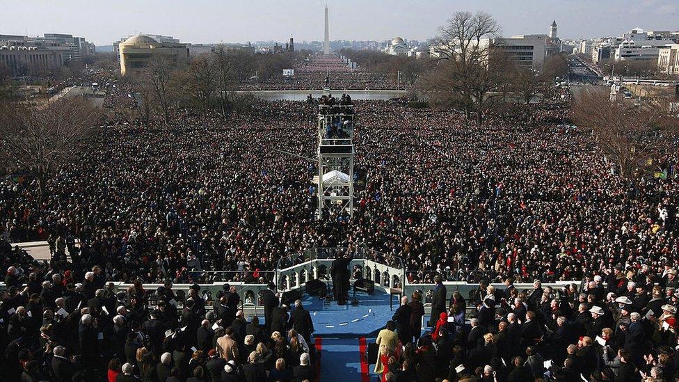 Toma de posesión de Barack Obama