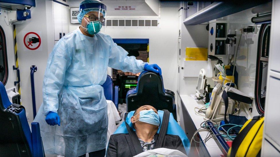 pacijent s korona virusom