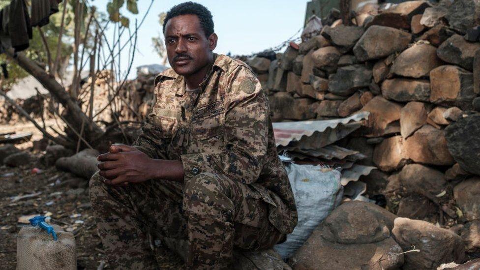 القوات الفيدرالية تقاتل جبهة تحرير شعب تيغراي منذ 4 نوفمبر/ تشرين ثاني الماضي