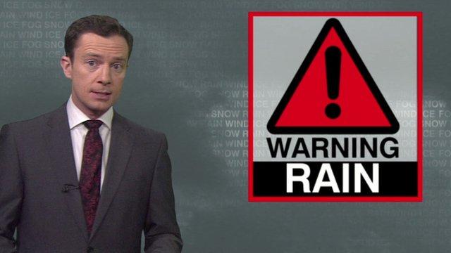 BBC Weather's Alex Deakin