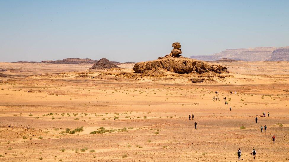 Outcrop of Jebel Mukkabir