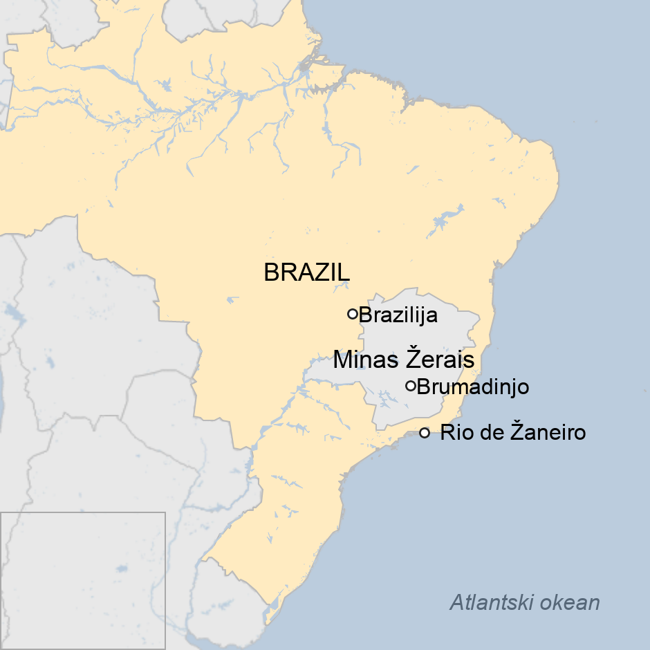 Mapa Brazila