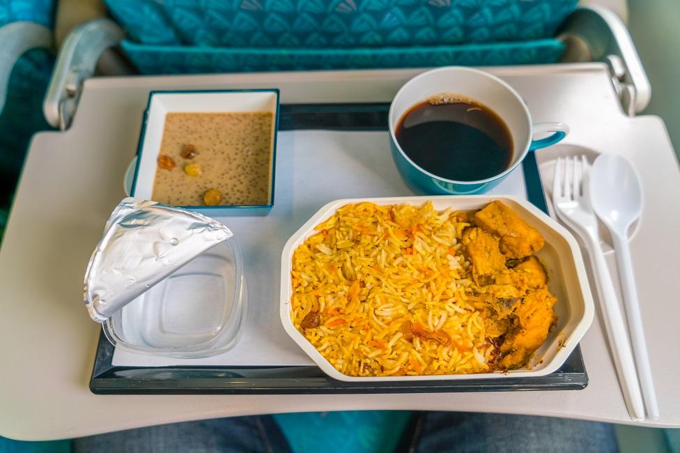 uçak yemeği