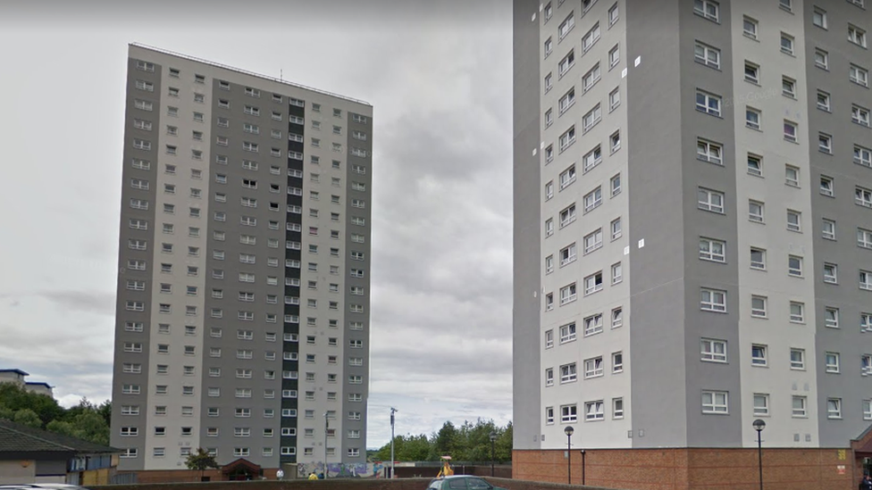 Police search Maryhill flats after firearm alert