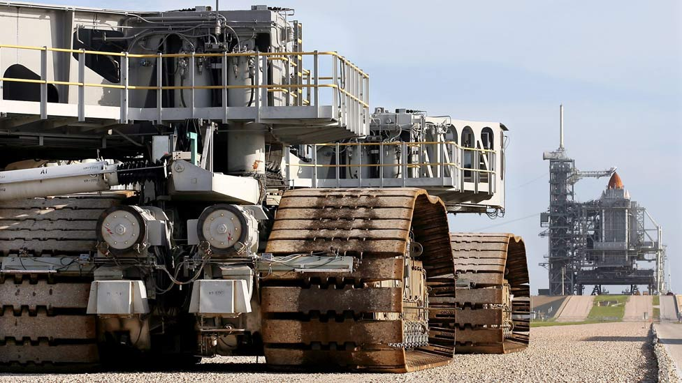 El Crawler Transporter de la NASA