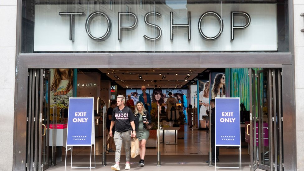 Topshop owner Arcadia on brink of collapse thumbnail