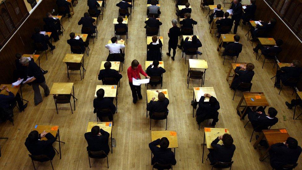 Scottish pupils await exam results