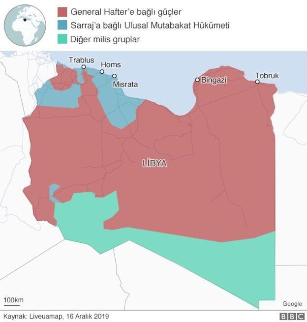 Libya son durum