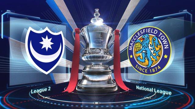 Portsmouth 2-1 Macclesfield