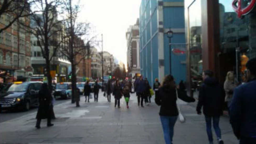 Ludlow's photo of Oxford Street