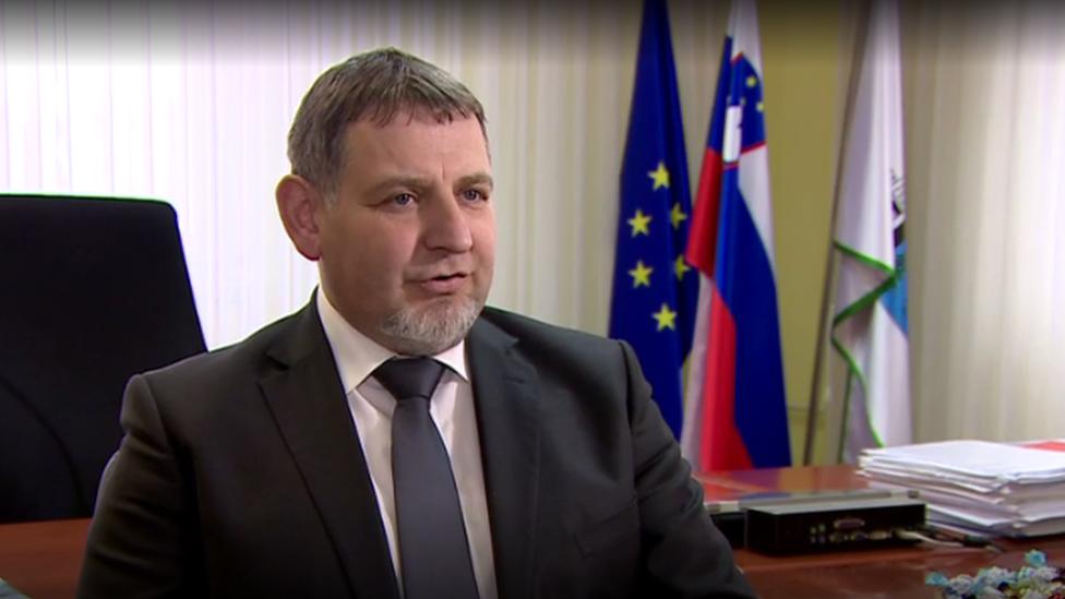 Alcalde de Sevnica.