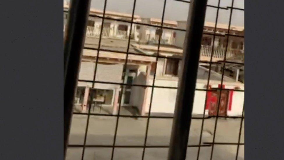 Video koji je model Merdan Gapar snimio unutar kineskog zatvorskog sistema