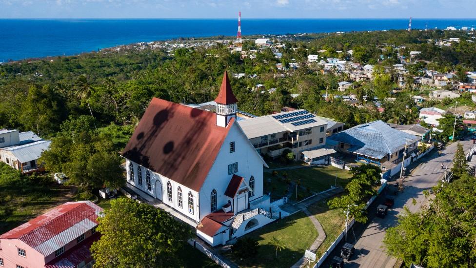La Iglesia bautista de San Andrés.