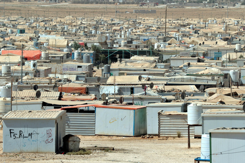 Zaatari - this vast desert camp houses 79,000 Syrian refugees