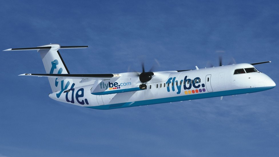 Flybe cancels dozens of flights
