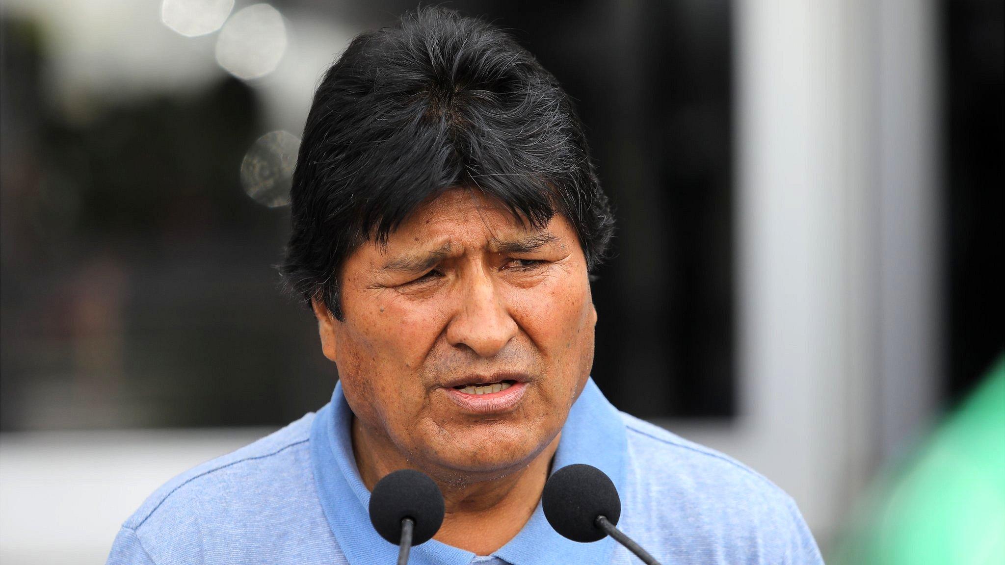 Evo Morales en Mçexico