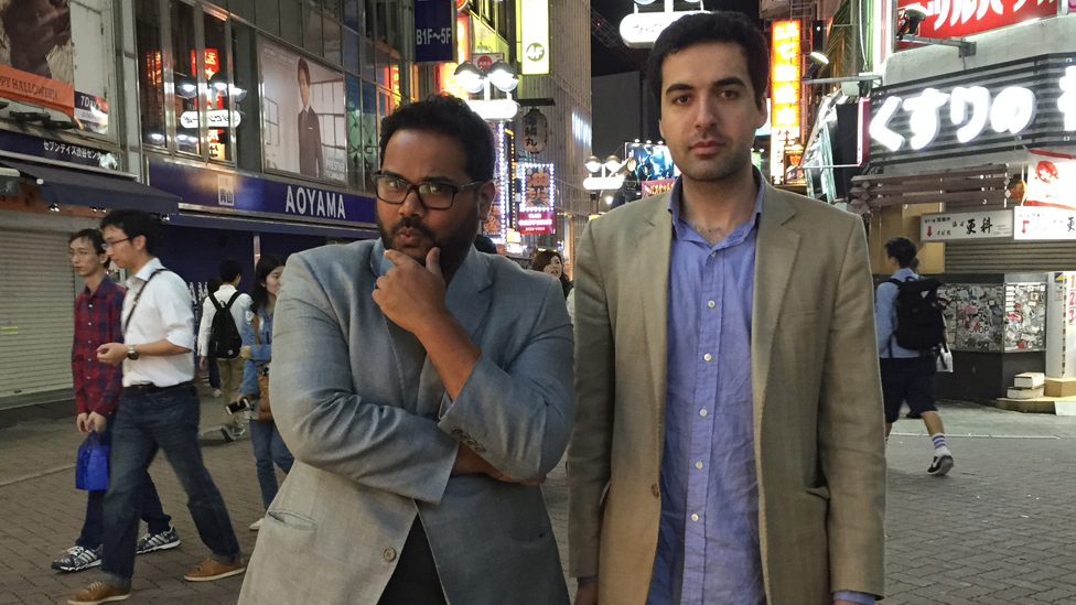 Ambarish Mitra and Omar Tayeb