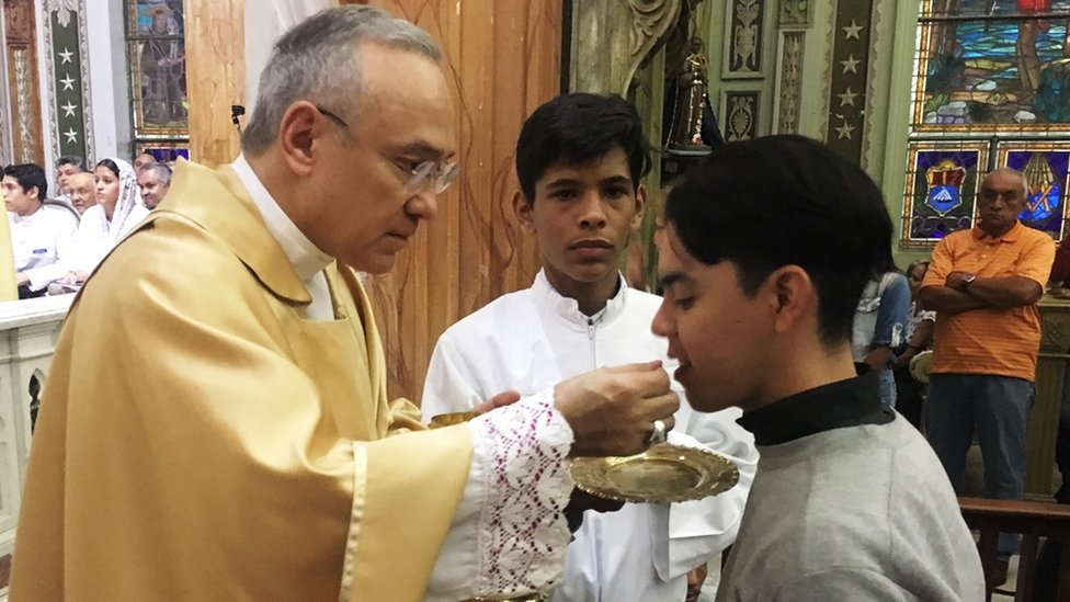 Edgar Peña asumió el cargo como sustituto de Asuntos Generales del Vaticano