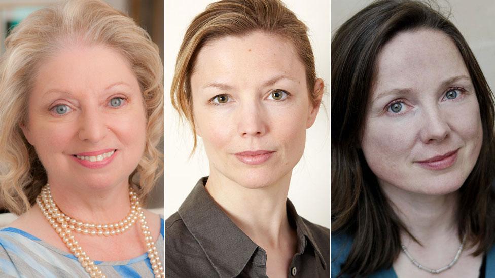 Hilary Mantel, KJ Orr, Lavinia Greenlaw