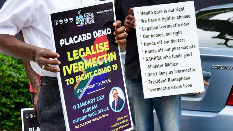 مظاهرة في جنوب أفريقيا