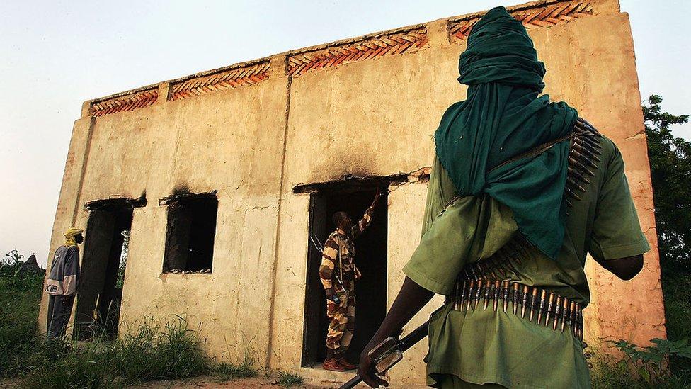 Pemberontak Sudan.