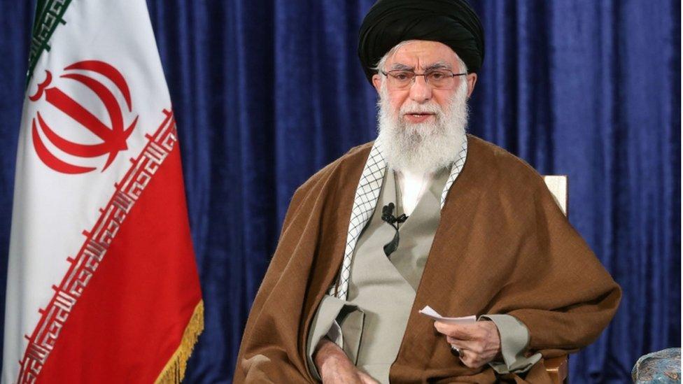 المرشد الأعلى في إيران خامنئي يأمر بتهيئة جزر في الخليج للسكنى - BBC News  عربي