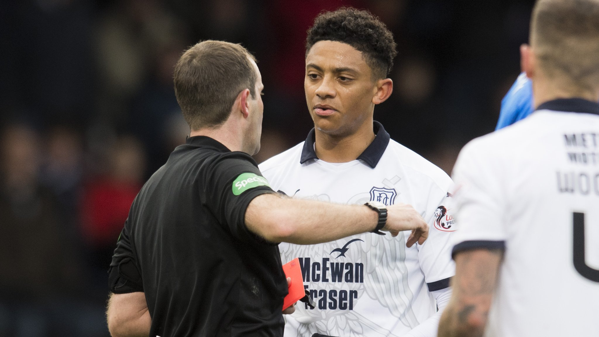 Nathan Ralph: Dundee lose appeal against red card in Rangers draw