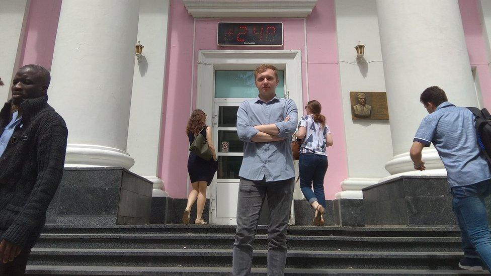Oleg Jefimenko kaže da je Serhijeva smrt šokirala njegove kolege studente