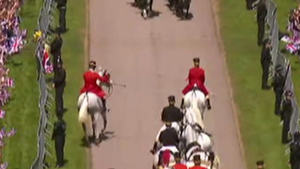 Royal Wedding 2018: Eagle-eyed viewers spot 'naughty' horse