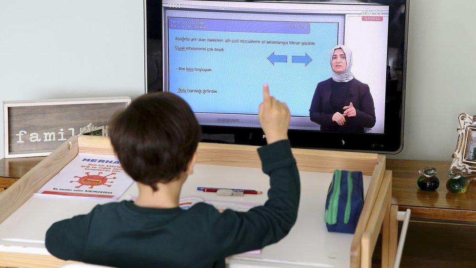 online eğitim öğrenci