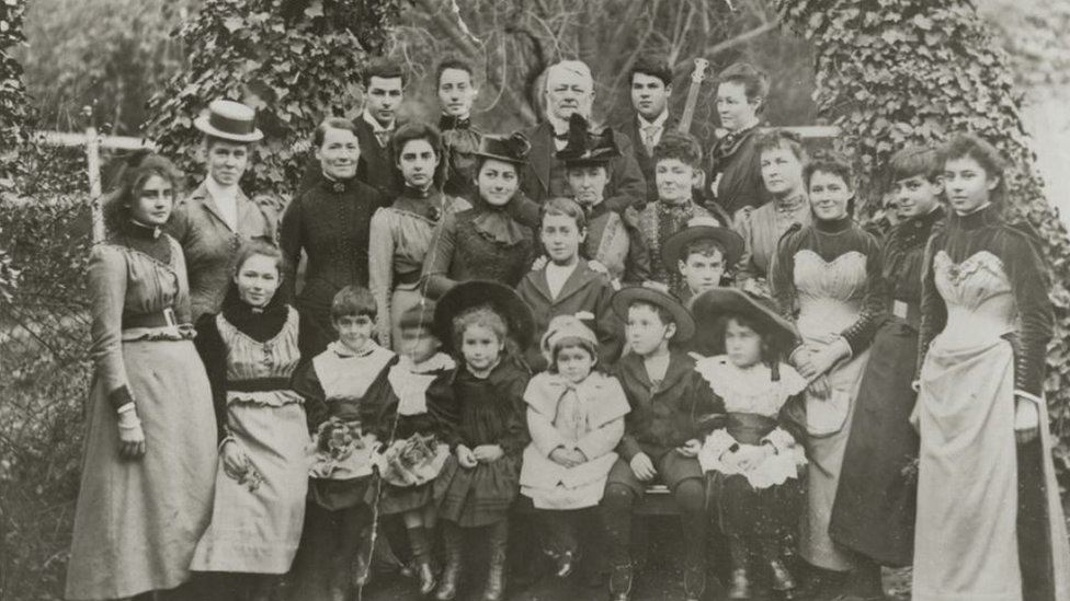 Henry Ayers with his family, my ancestors