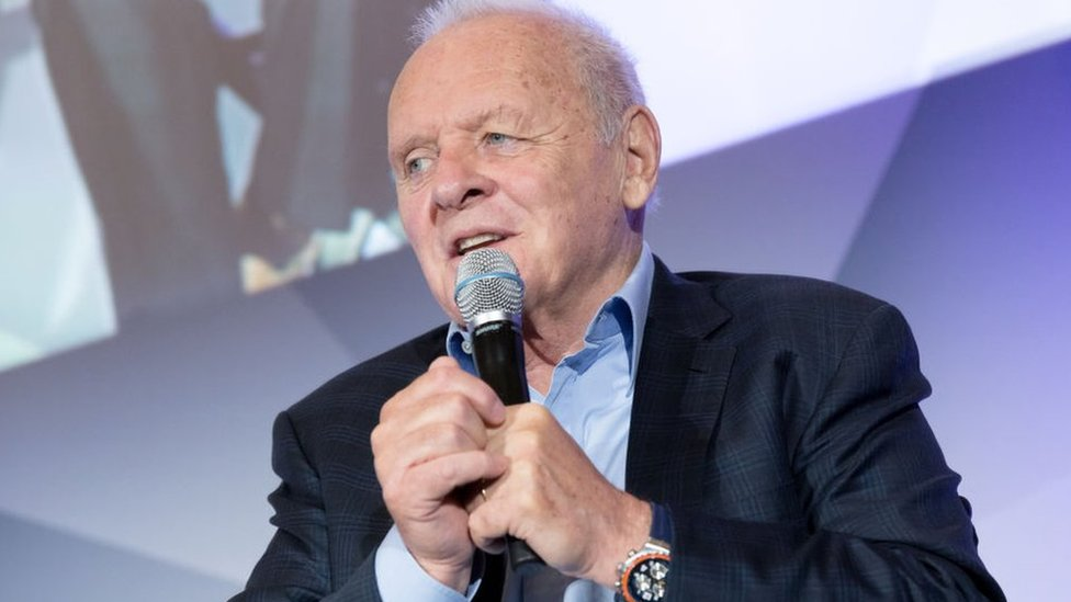 Sir Anthony Hopkins at the 11th annual Leap, Leadership, Excellence and Accelerating Your Potential conference
